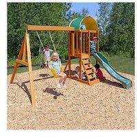 Kidkraft Ainsley Outdoor Wooden Playset
