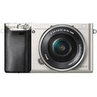 Sony Α6000 E-Mount Camera With Aps-C Sensor - Silver sale image