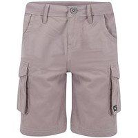 Animal Boys Grey Cargo Shorts, Steel Grey, Size 13-14 Years