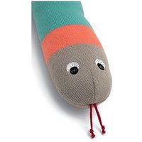 Mamas & Papas Knitted Snake Soft Toy