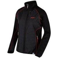 Regatta Robson Hybrid Jacket - Black , Black, Size 14, Women