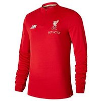 New Balance Liverpool FC Elite Training Mid Layer Top, Red, Size Xl, Men