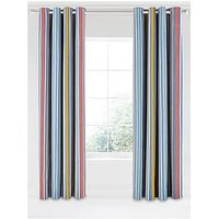 Scion Peppino Lined Striped Eyelet Curtains