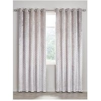 Alto Textured Cut Eyelet Curtains