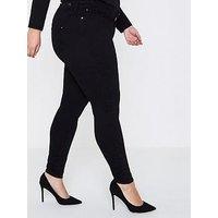 RI Plus RI Plus Regular Leg Molly Jeggings- Black, Black, Size 20, Women