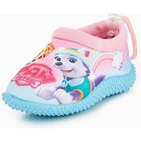 Paw Patrol Girls Water Shoe, Blue/Pink, Size 5 Younger