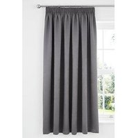 Catherine Lansfield Chelsea Lined Dim Out Pencil Pleat Curtains