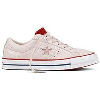 Converse One Star Ox - Pink , Pink, Size 4, Women