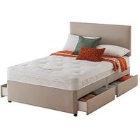 Layezee Made By Silentnight Fenner Bonnel Ortho Divan Bed With Half-Price Headboard Offer (Buy And Save!)