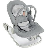 Mamas & Papas Mamas & Papas Wave Rocking Cradle GREY, One Colour