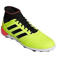 adidas Mens Predator 18.3 Astro Turf Football Boot - Yellow Black, Yellow/Black, Size 12, Men