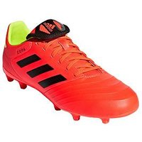 adidas Mens Copa 18.3 Firm Ground Football Boot - Solar Red , Red/Black, Size 12, Men