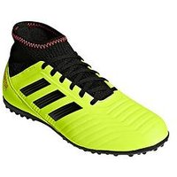 adidas Adidas Junior PREDATOR 18.3 Astro Turf Football Boots, Yellow/Black, Size 4