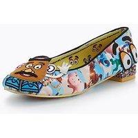 Irregular Choice Irregular Choice KEEP EM TOGETHER Toy Story Shoes, Blue Multi, Size 4, Women