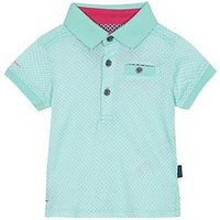 Baker by Ted Baker Baby Boys Polo, Green, Size 9-12 Months