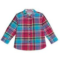 Baker by Ted Baker Toddler Boys Check Shirt, Multi, Size 3-4 Years