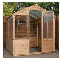 Mercia 6 X 4 Ft Shiplap Greenhouse