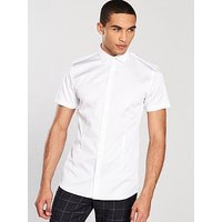 Jack & Jones Jack & Jones Premium S/s Parma Shirt, White, Size L, Men