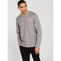 Jack & Jones Jack & Jones Originals Galions Sweat, Light Grey, Size Xl, Men