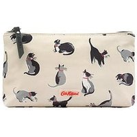 Cath Kidston Matt Zip Make Up Bag, Stone, Women