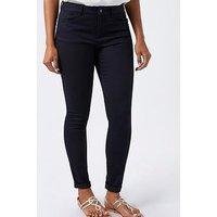 Monsoon Nadine Overlap Pocket Skinny Jeans, Indigo, Size 10, Women