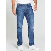 Calvin Klein Jeans Ck Jeans Athletic Tapered West Jean, Pinole, Size 34, Inside Leg Regular, Men