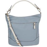 Accessorize Soft Slouch Hobo Bag, Blue, Women