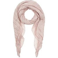 Accessorize Sophie Soft Pleated Scarf, Pale Pink, Women