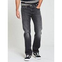 Levi's Levis 501® Original Fit Jeans, Mlk Warp, Size 30, Inside Leg Long, Men