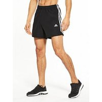 adidas Essential 3S Chelsea Shorts, Black, Size M, Men