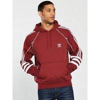 adidas Originals Authentics Hoodie, Maroon, Size 2Xl, Men