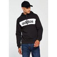 adidas SMU Tri Block Panel OTH Hoodie, Black, Size 2Xl, Men
