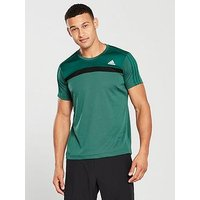 adidas Freelift T-Shirt, Green, Size S, Men