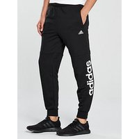 adidas Essential Linear Track Pants, Black, Size M, Men