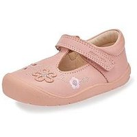 Start-rite Start Rite First Mia Baby Shoe, Pink, Size 2.5 Younger