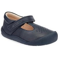 Start-rite Start Rite First Alex Baby Shoe, Navy, Size 2 Younger