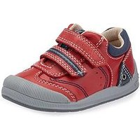 Start-rite Start Rite Tough Bug First Shoe, Red, Size 7 Younger