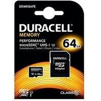 Duracell 64Gb Microsdxc Class 10 Uhs-I Kit
