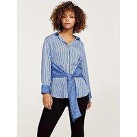 Violeta Plus Size Blouse - Blue, Blue, Size 22, Women