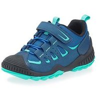 Start-rite Boys Charge Lace Up Trainer - Blue, Blue, Size 8 Younger