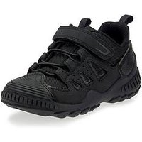 Start-rite Start Rite Charge Trainer, Black, Size 13.5 Younger