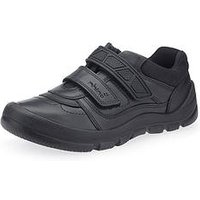 Start-rite Start Rite Rhino Warrior School Shoe, Black, Size 13.5 Younger