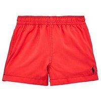 Ralph Lauren Baby Boys Swim Short, Red, Size 18 Months