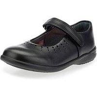 Start-rite Girls Mary Jane School Shoe - Black, Black, Size 13.5 Younger