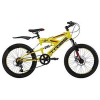 Tribe Lithium 6 Speed Kids Steel Mountain Bike 20 Inch Wheel