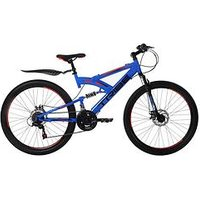 Tribe Lithium 18 Speed Kids Steel Mountain Bike 26 Inch Wheel