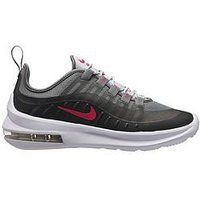 Nike Air Max Axis Junior Trainer, Black/Pink, Size 4