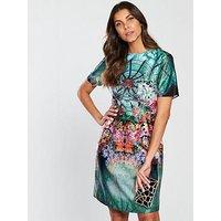Skeena S Noor Shift Dress - Looking Glass