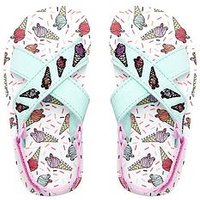 Animal Younger Girls Ice Cream Sandal, Multi, Size 9 Younger