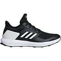 adidas Rapida Run Knit Junior Trainer, Black/White, Size 3